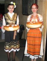 Хлебом и солью Болгария встречала участников конгресса МФТ